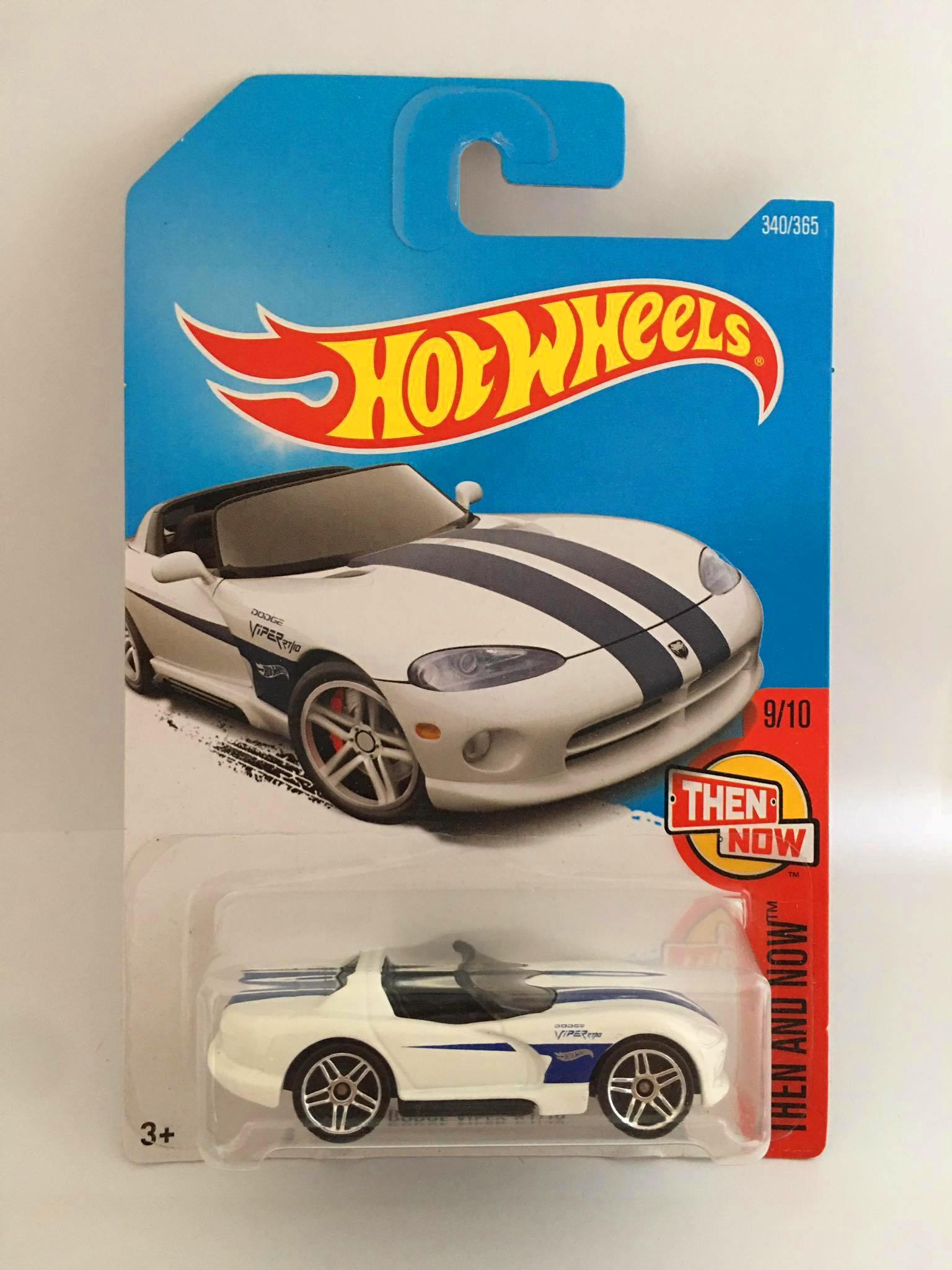 Hot Wheels - Dodge Viper RT/10 Branco - Mainline 2017
