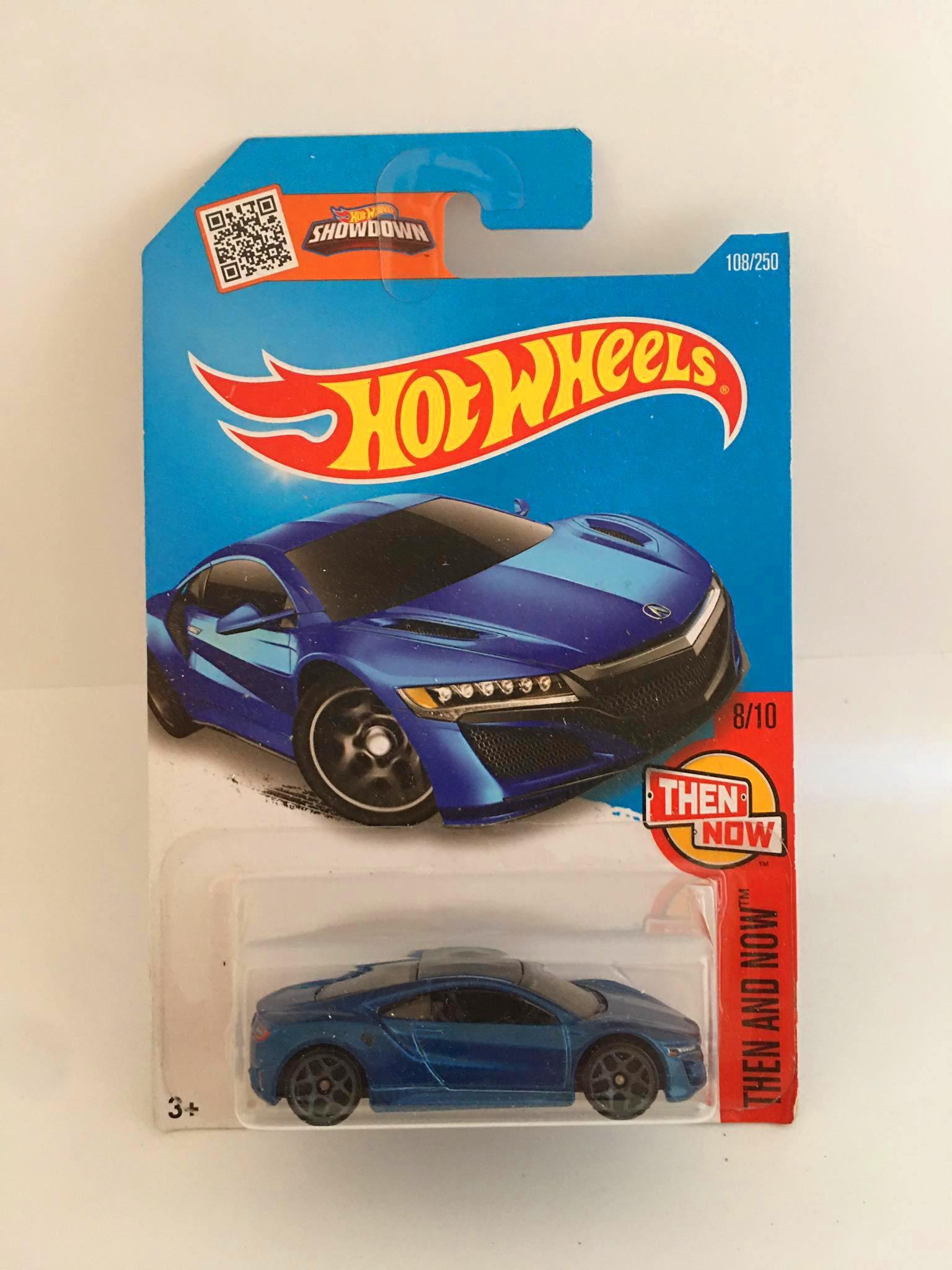 Hot Wheels - 17 Acura NSX Azul - Mainline 2016