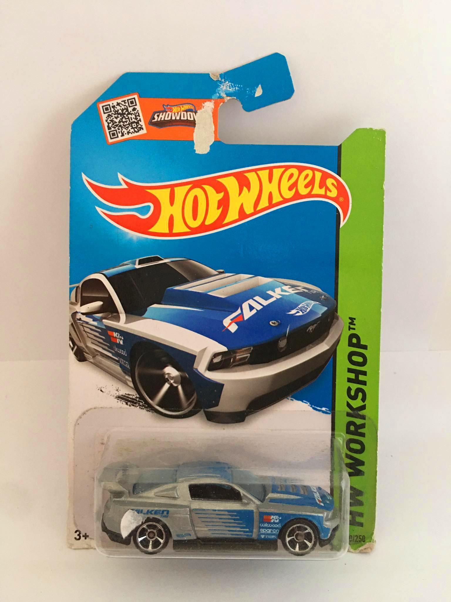 Hot Wheels - Custom 12 Ford Mustang Cinza - Mainline 2014 - Leia Descrição