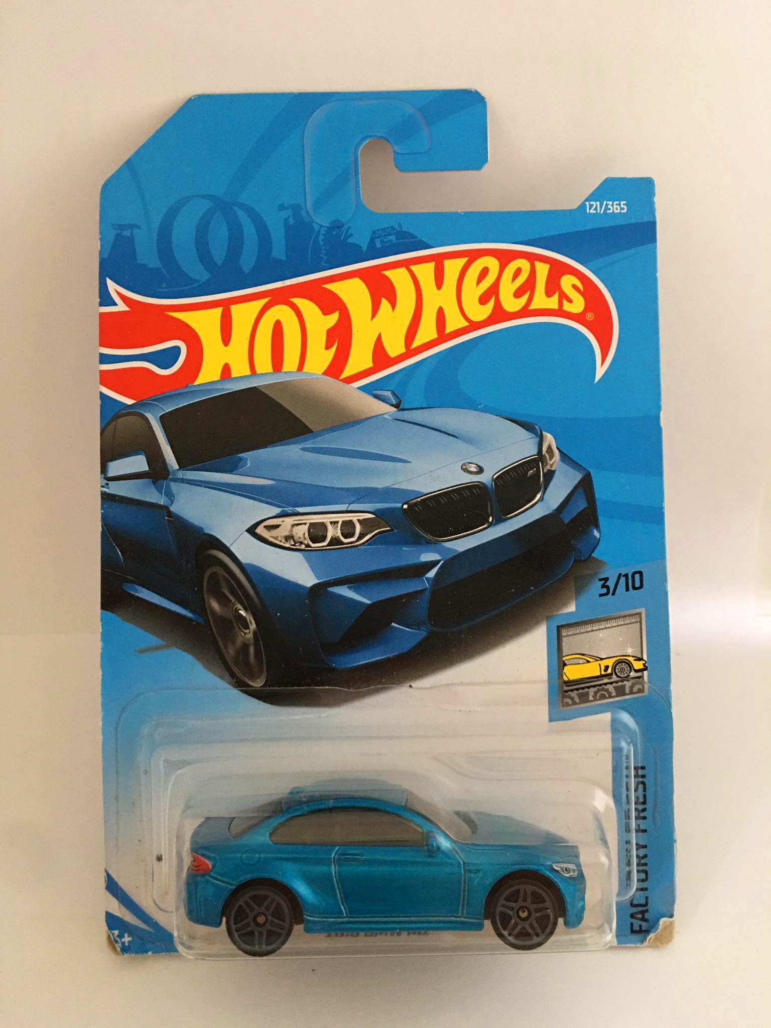 Hot Wheels - 2016 Bmw M2 Azul - Mainline 2017