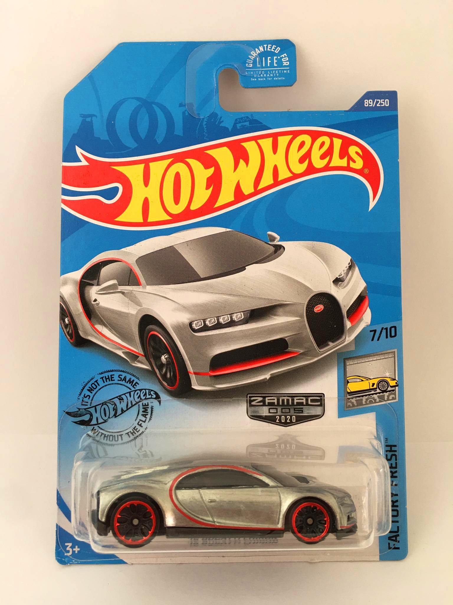 Hot Wheels - 16 Bugatti Chiron Zamac - Kmart 2020