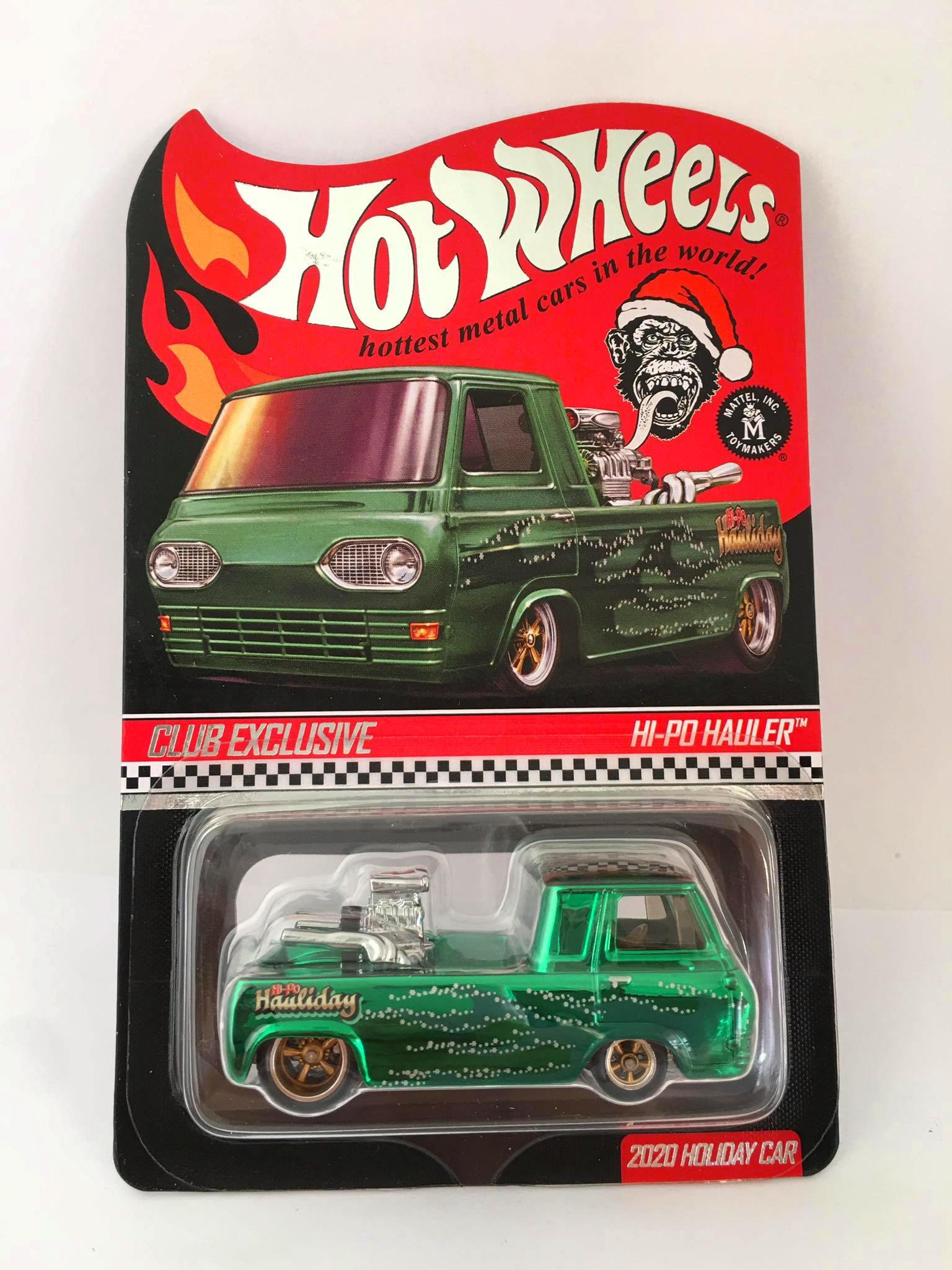 Hot Wheels - HI-PO Hauler Verde - Club Exclusive