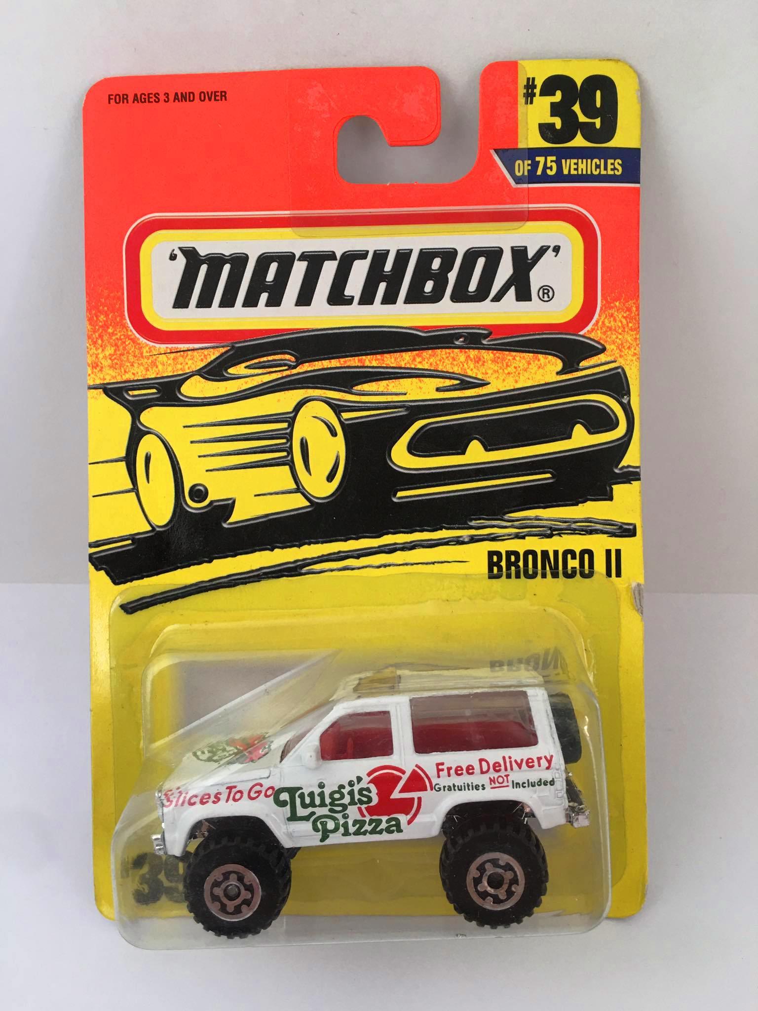 Matchbox - Bronco || Branco - Básico 1997