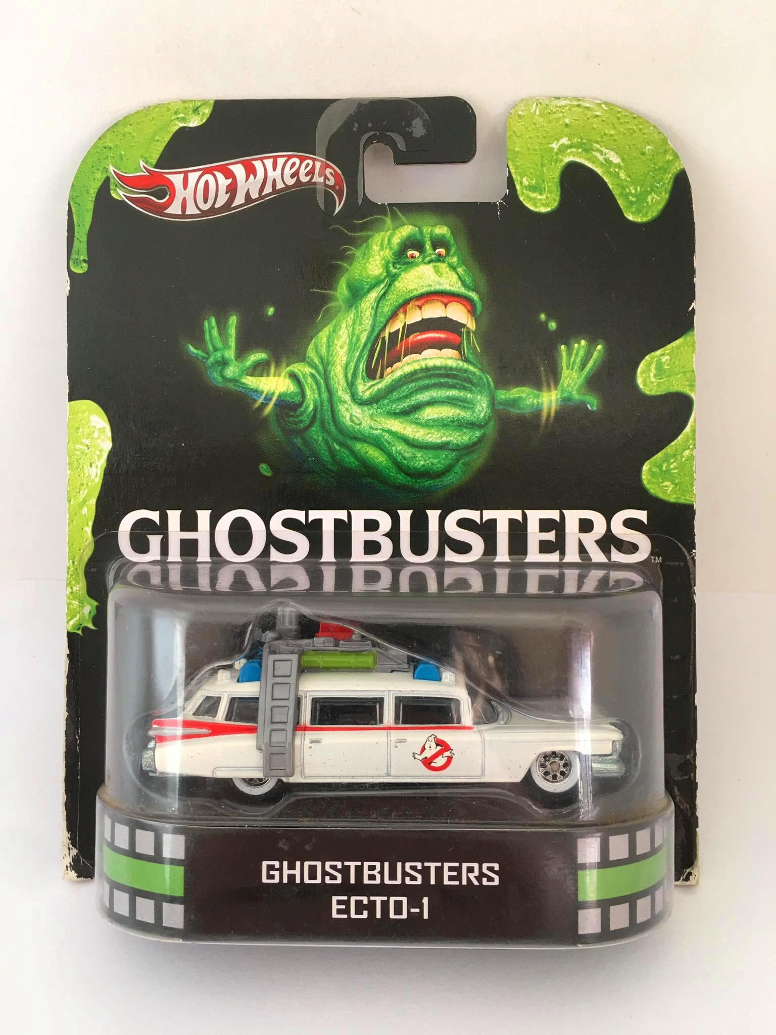 Hot Wheels - Ghostbusters Ecto -1 - Retro - Leia Descrição