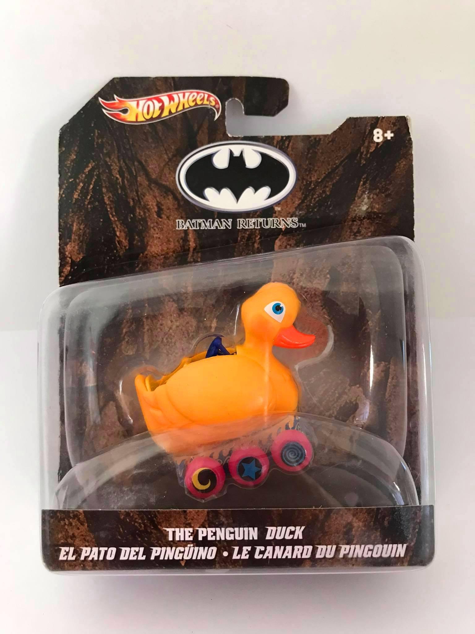 Hot Wheels - The Penguin Duck - Batman Returns Escala 1:50