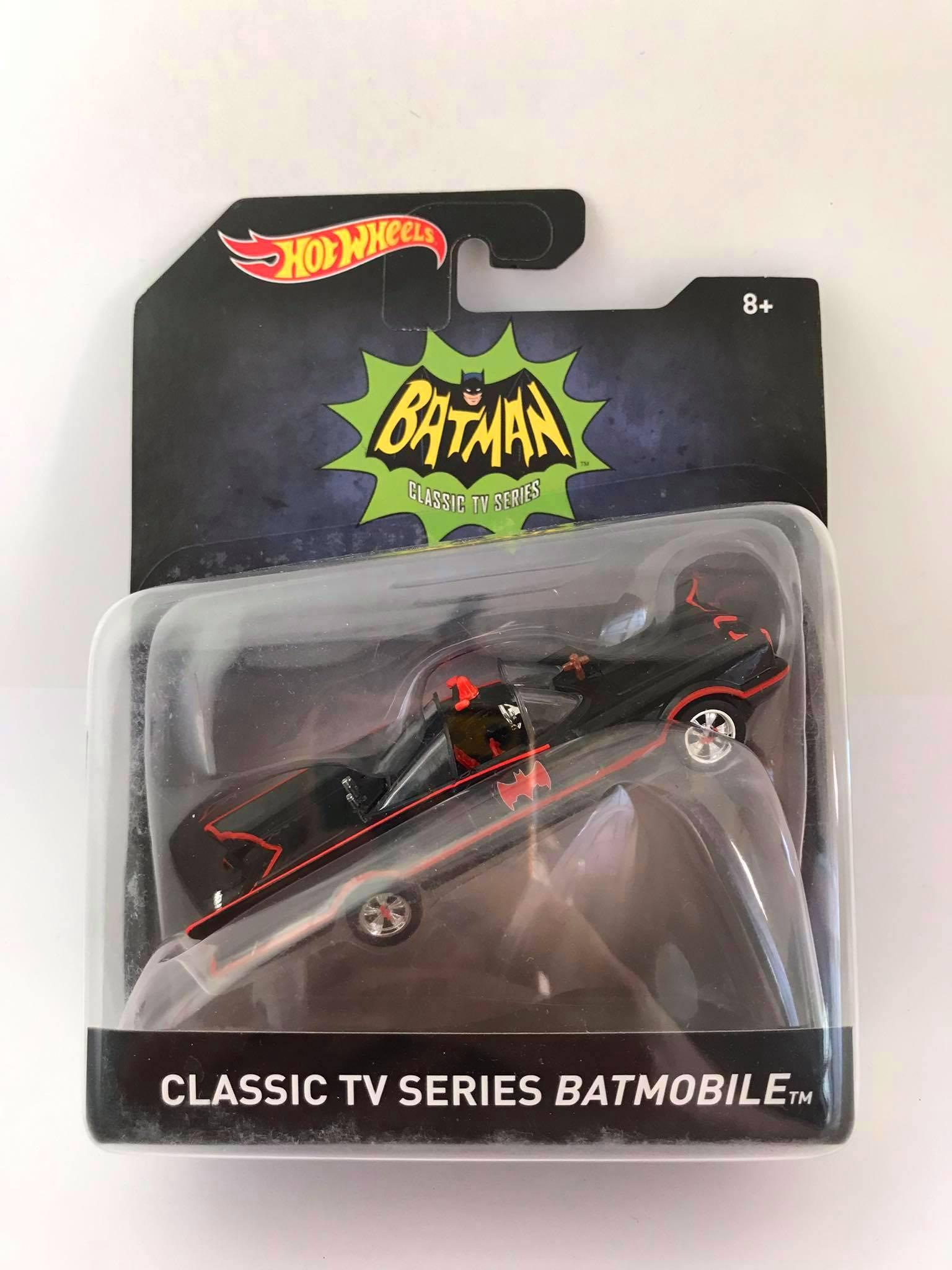 Hot Wheels - Classic Tv Series Batmobile - Batman - Escala 1:50