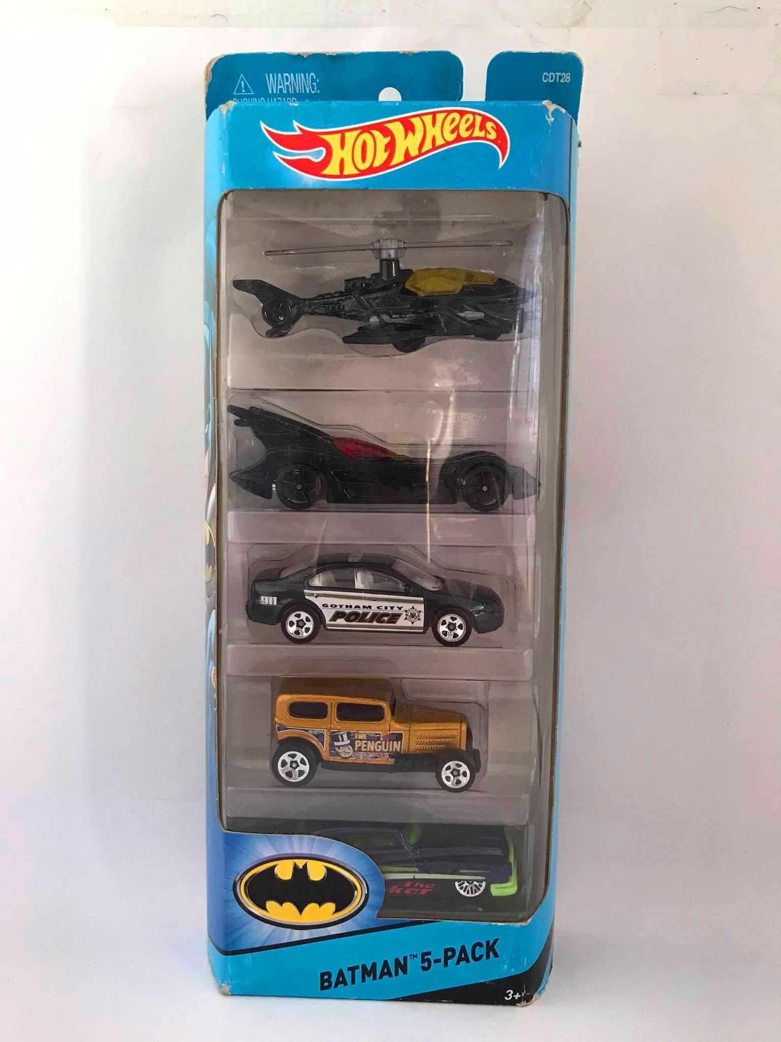 Hot Wheels - Batman 5-Pack - Batman
