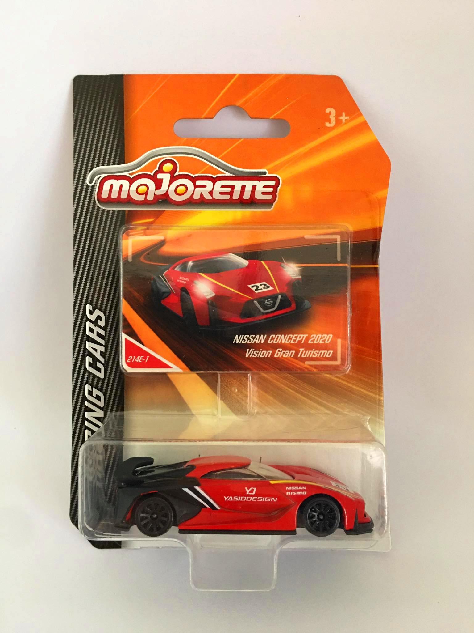 Majorette - Nissan Concept 2020 Vision Gran Turismo Vermelho - Racing Cars