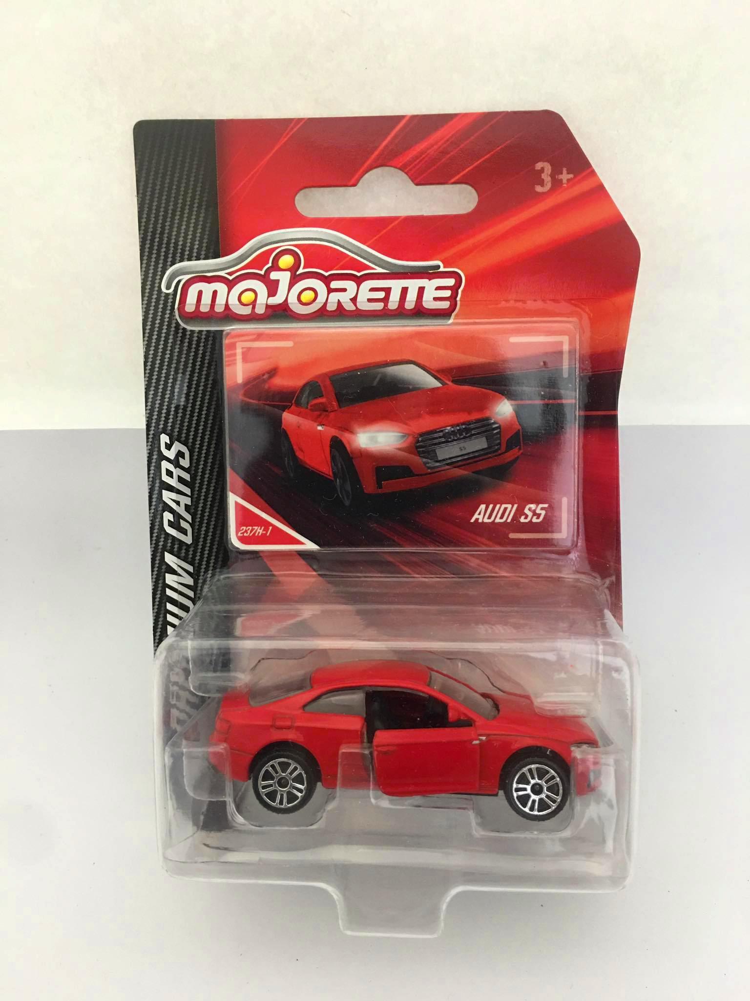 Majorette - Audi S5 Vermelho - Premium Cars