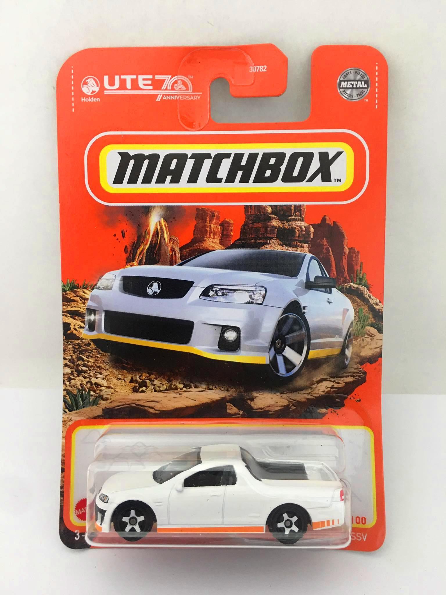 Matchbox - 2008 Holden VE UTE SSV Branco - Básico 2021