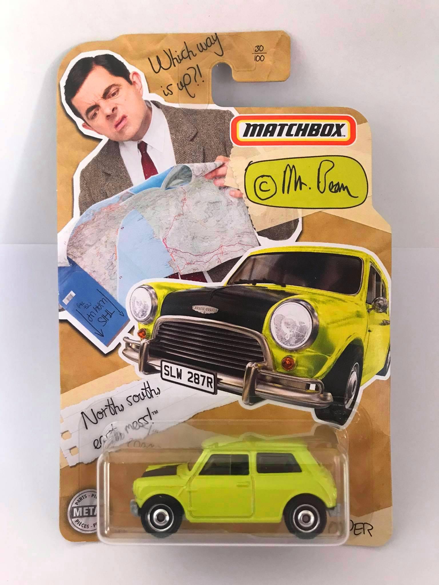 Matchbox - Mini Cooper - Mr. Bean - Básico 2020