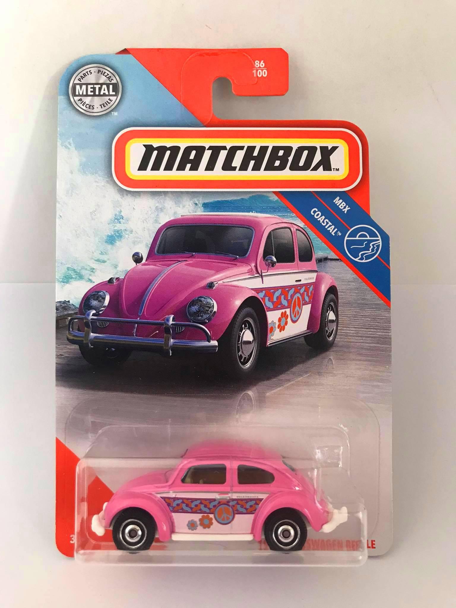 Matchbox - 1962 Volkswagen Beetle Rosa - Básico 2020