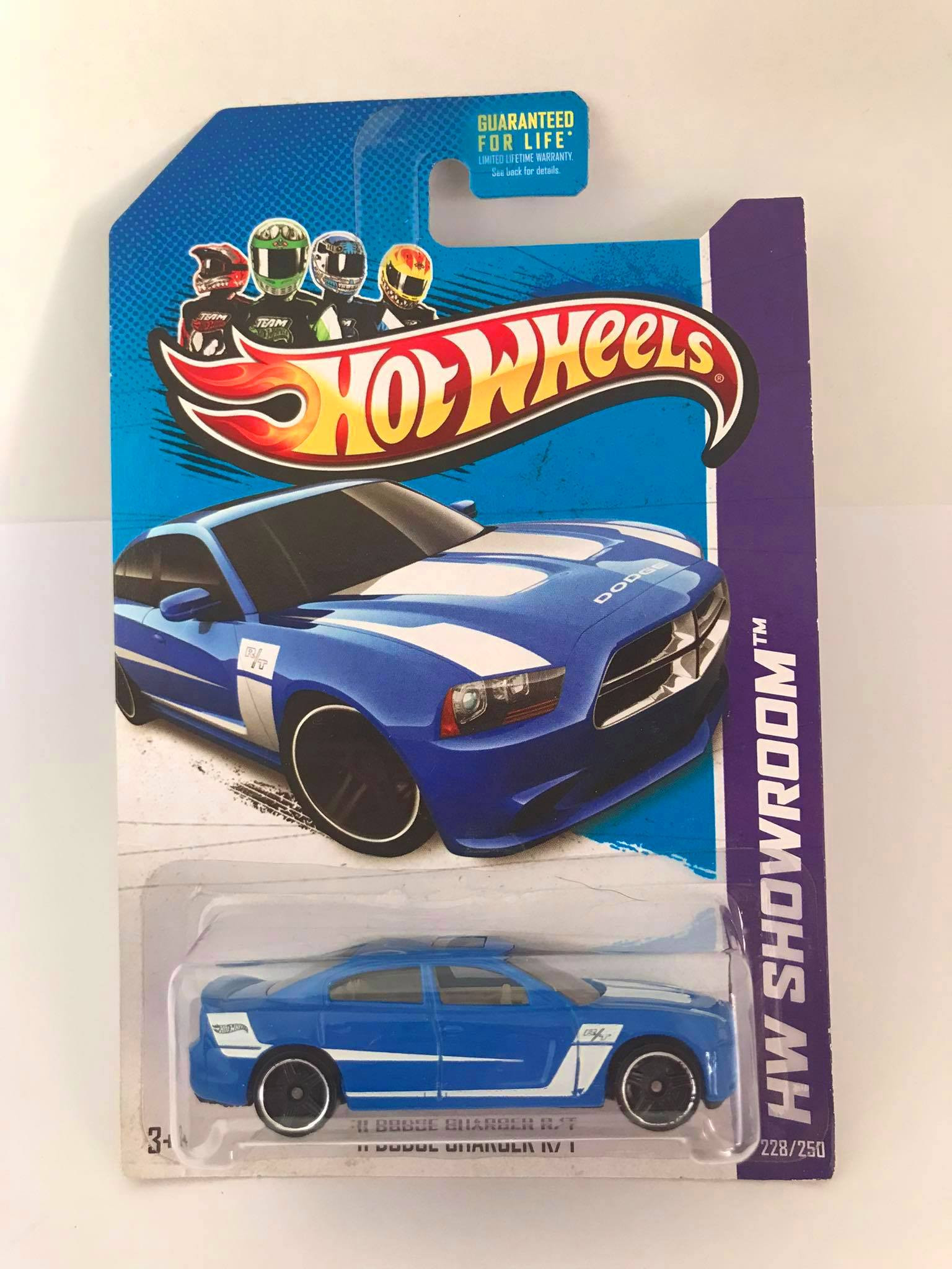 Hot Wheels - 11 Dodge Charger R/T Azul - Exclusivo Kmart 2013
