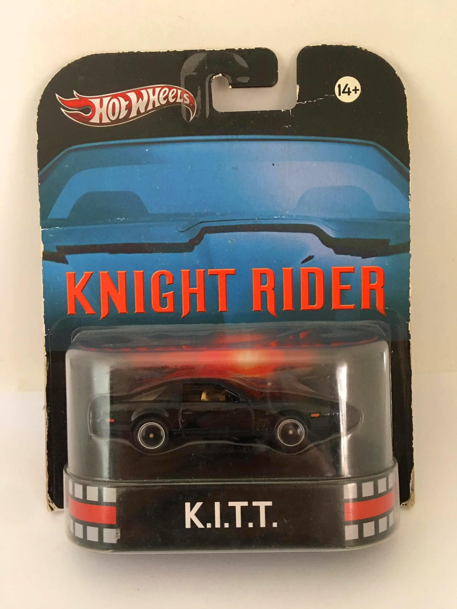 Hot Wheels - Knight Rider - KITT - Super Máquina - Retro - Leia Descrição