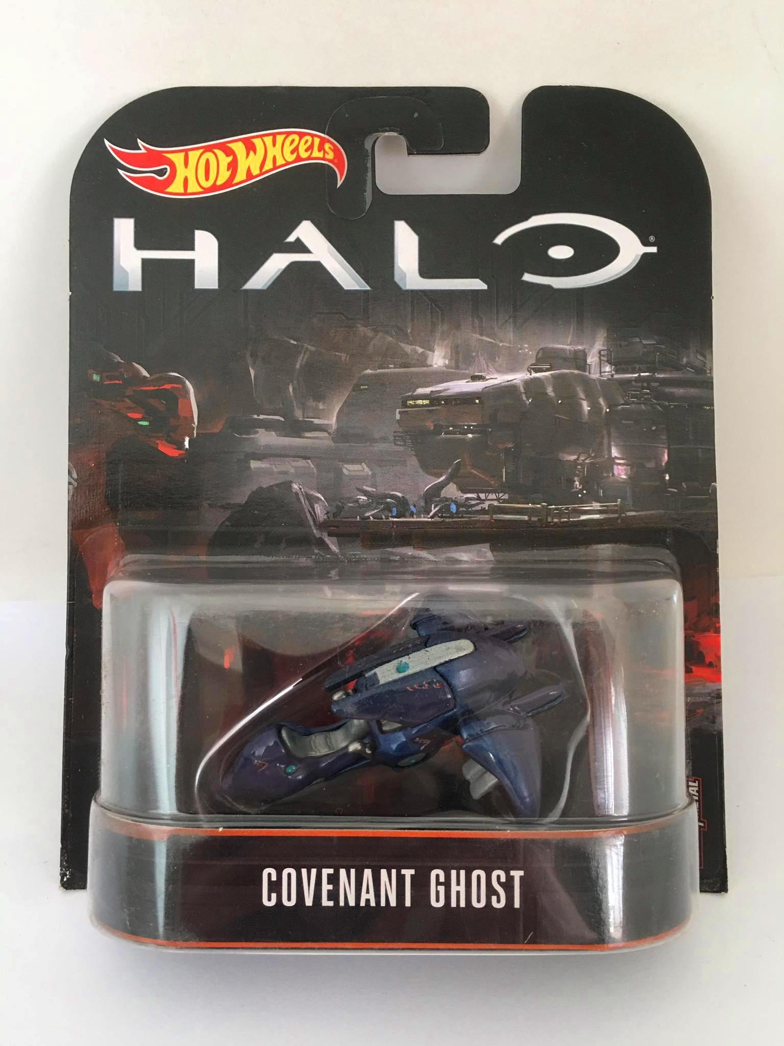 Hot Wheels - Covenant Ghost - HALO - Retro
