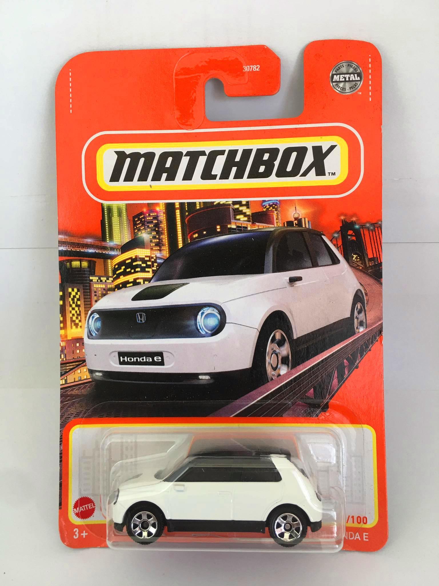 Matchbox - 2020 Honda E Branco - Básico 2021