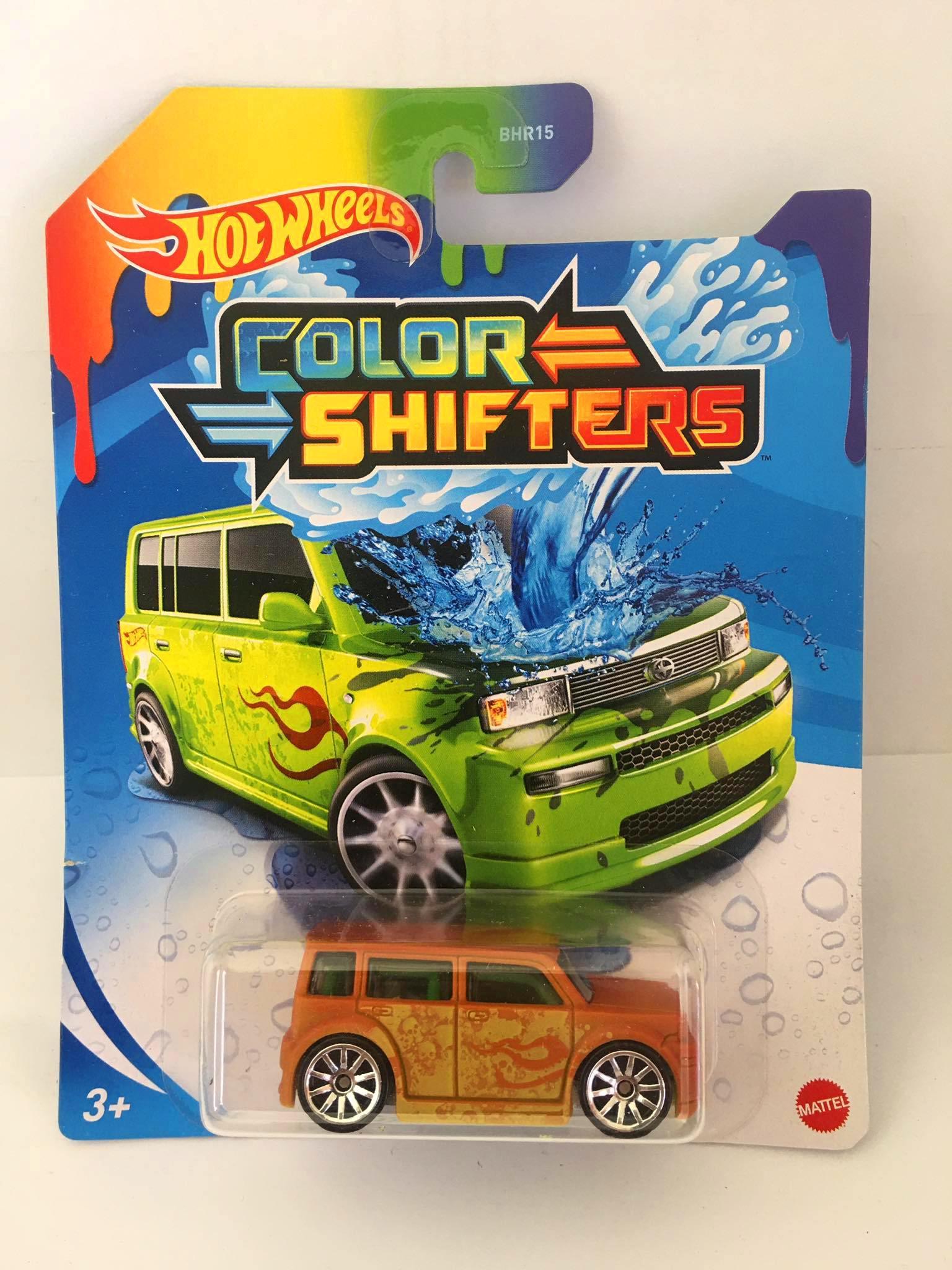 Hot Wheels - Scion XB Laranja - Color Shifters