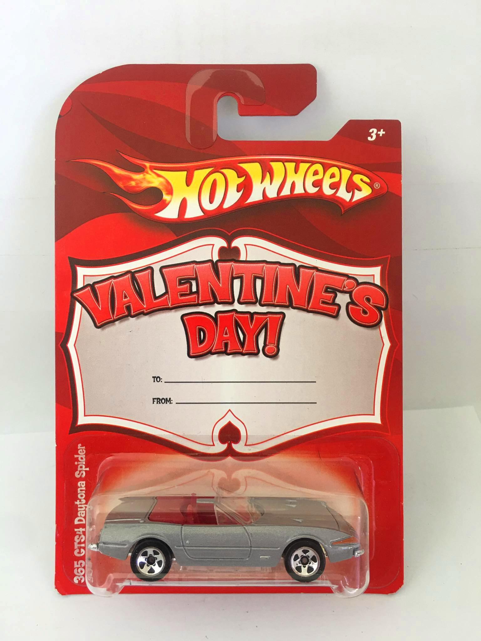 Hot Wheels - Ferrari 365 GTS4 Daytona Spider Cinza - Valentine's Day!