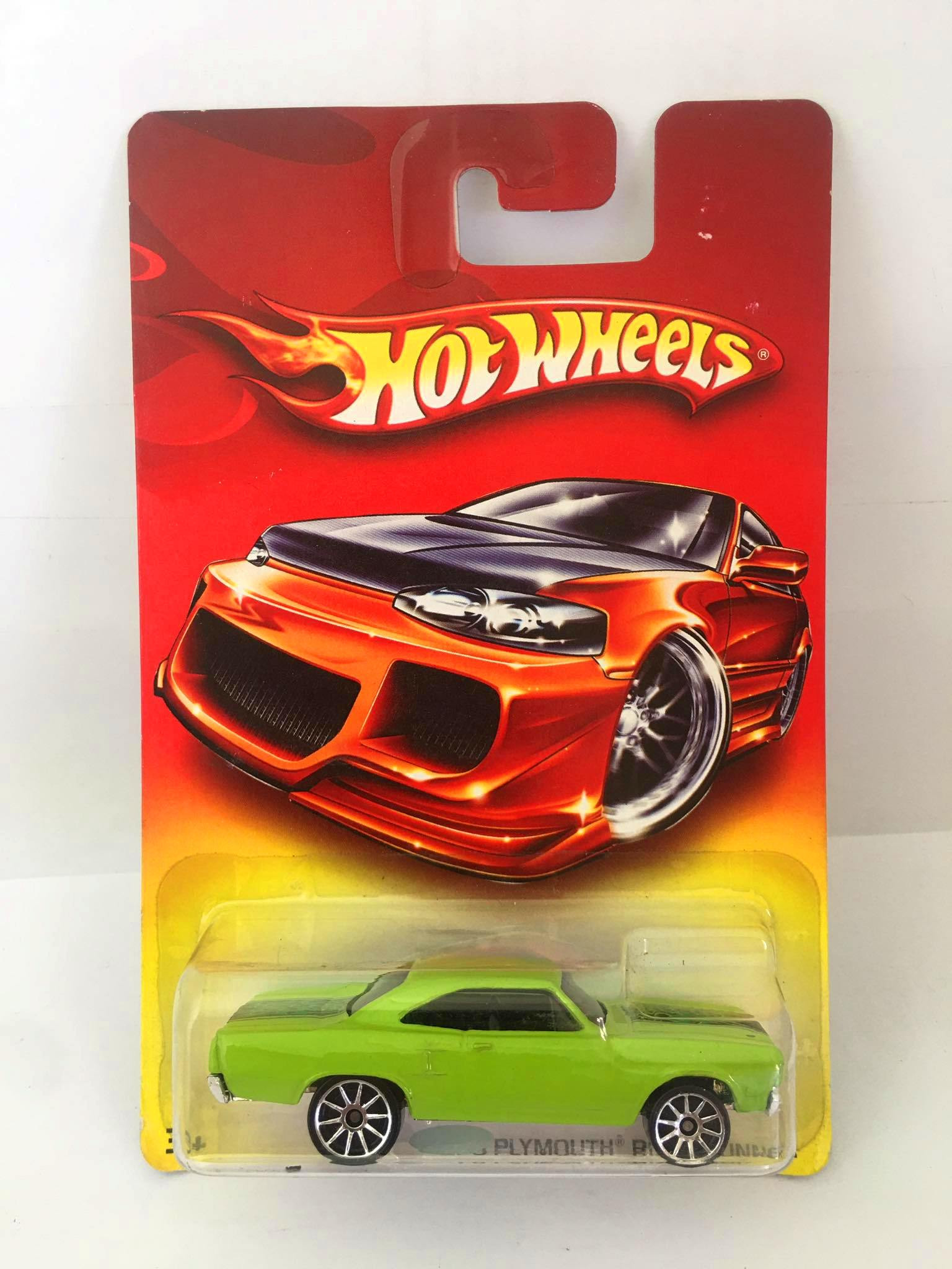 Hot Wheels - 70 Plymouth Road Runner Verde - Red Card