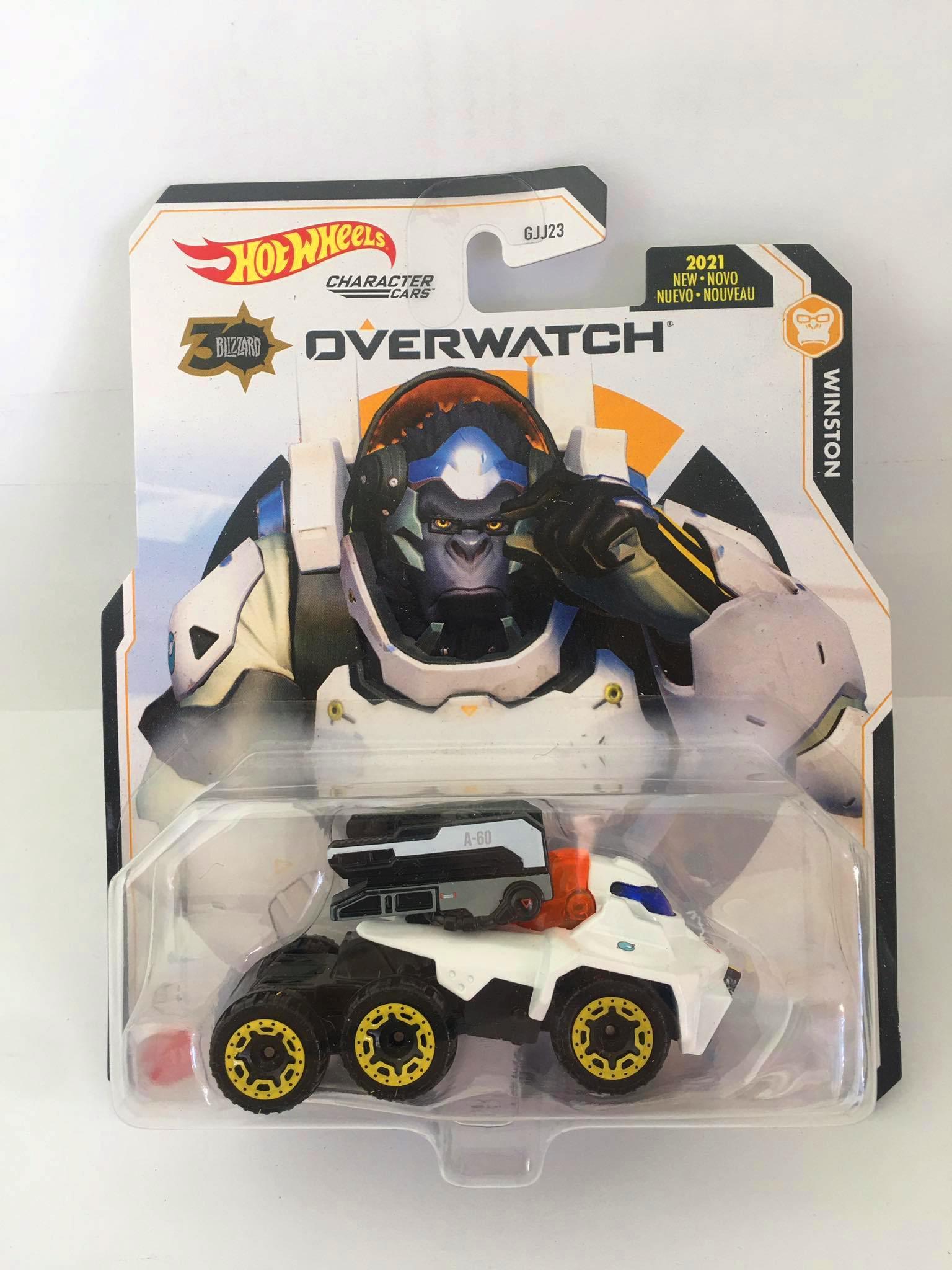 Hot Wheels - Winston Branco - Overwatch - Character Cars