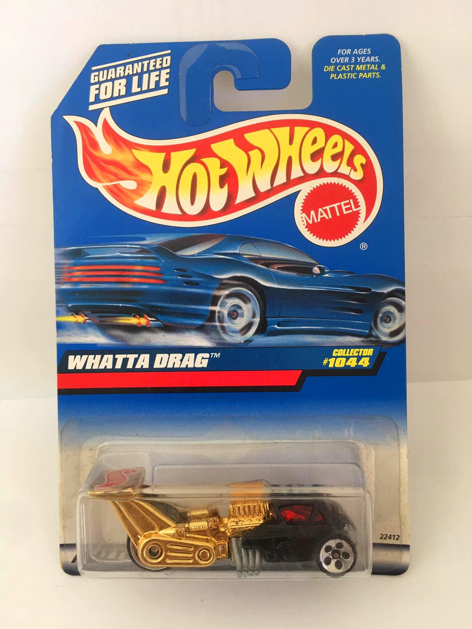 Hot Wheels - Whatta Drag Preto - Mainline 1999