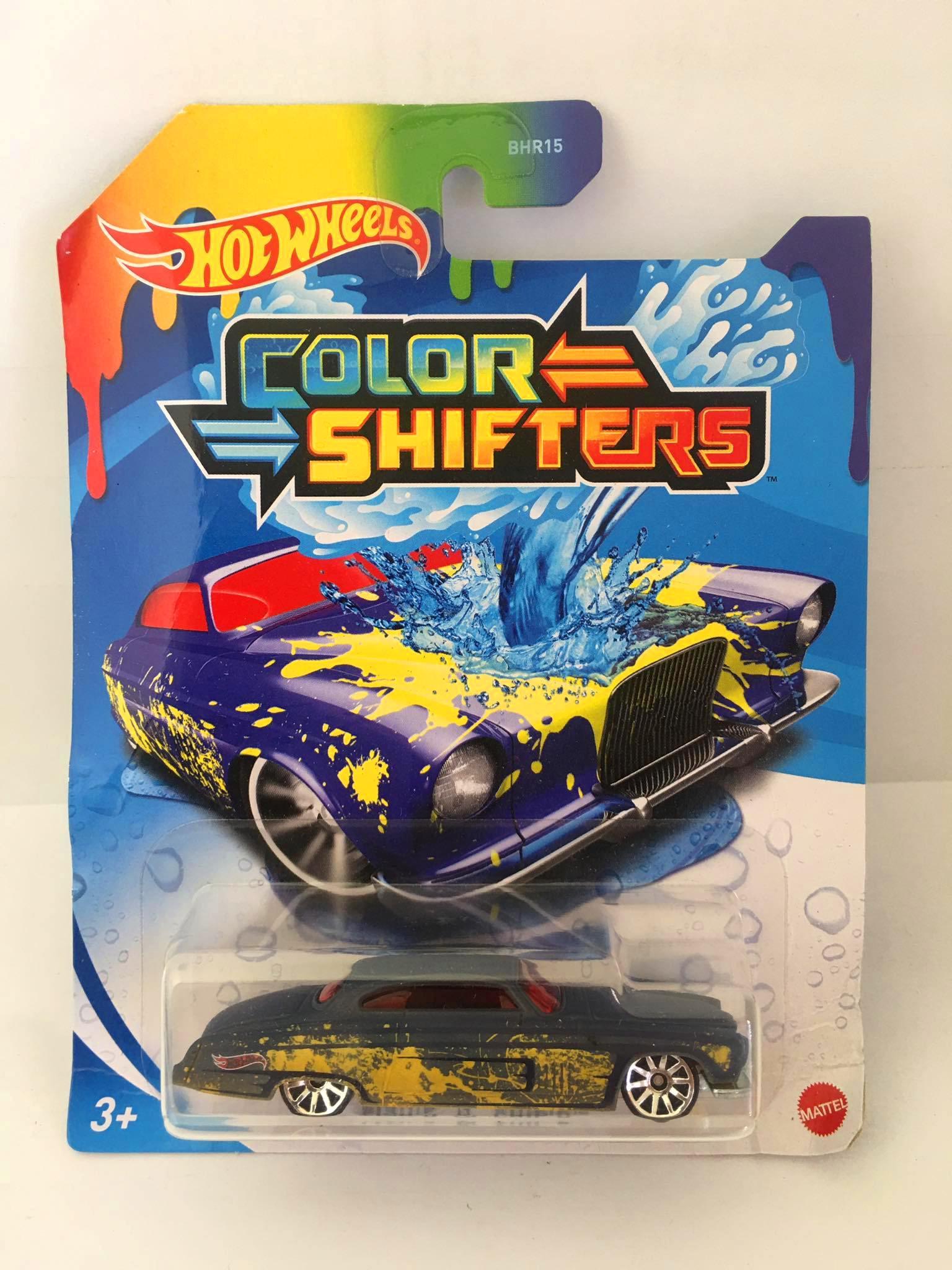 Hot Wheels - Fish'D & Chip'D Verde - Color Shifters