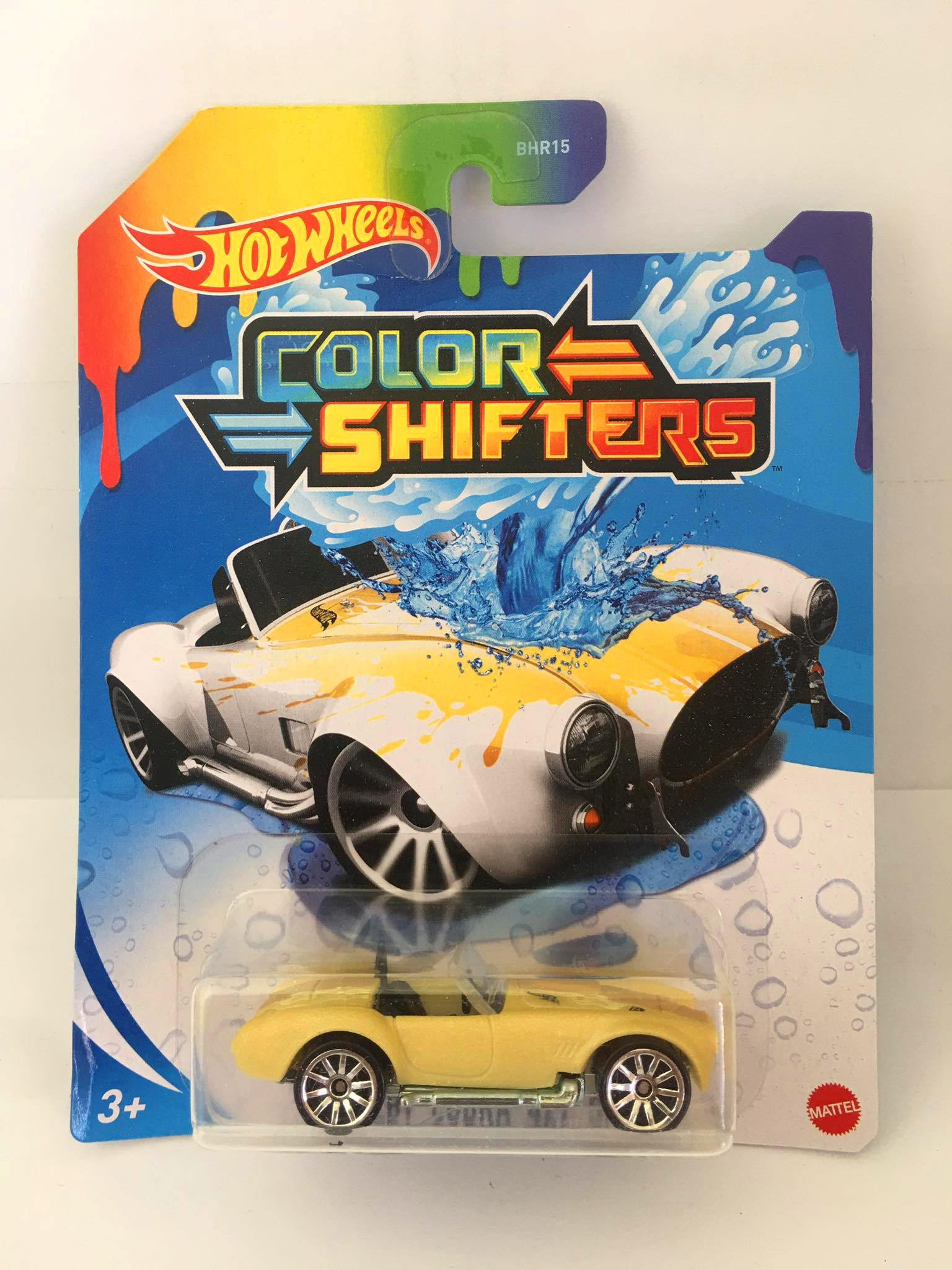 Hot Wheels - Shelby Cobra 427 S/C Bege - Color Shifters