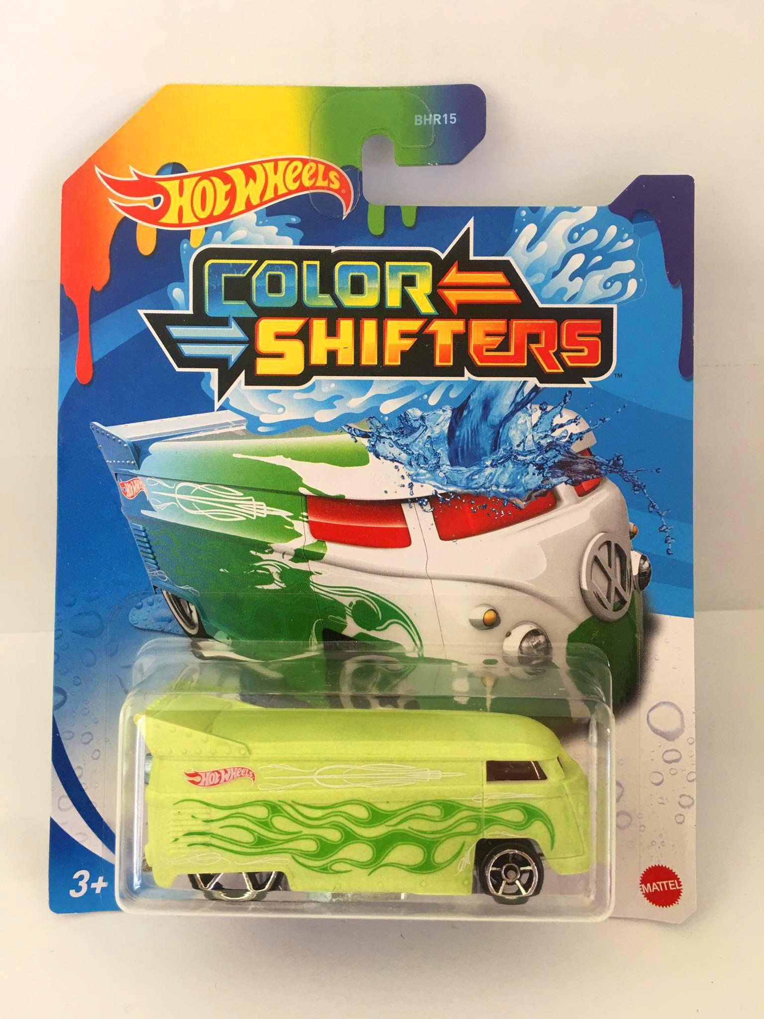 Hot Wheels - Volkswagen Drag Bus Verde - Color Shifters