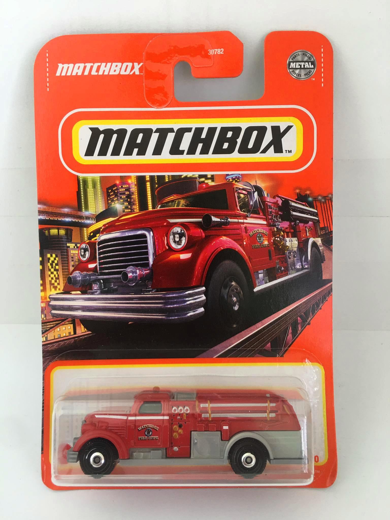 Matchbox - MBX Fire Dasher Vermelho - Básico 2021