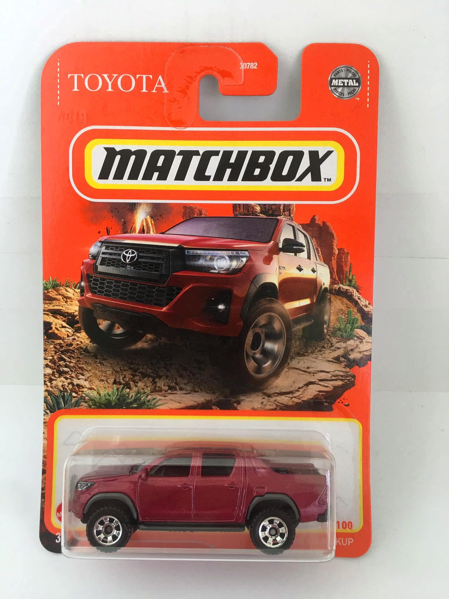 Matchbox - Toyota Hilux Pickup Vermelho - Básico 2021
