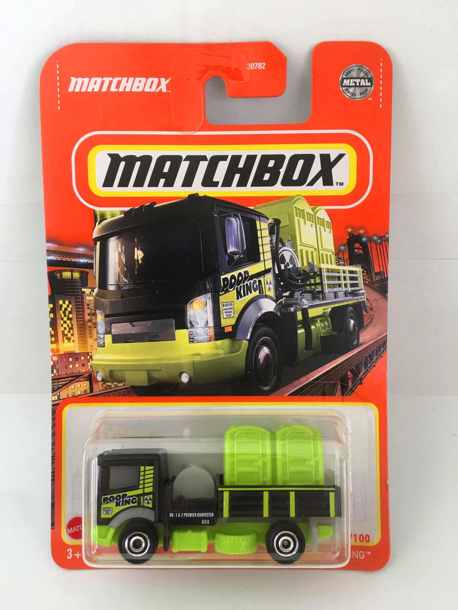 Matchbox - Poop King Verde - Básico 2021