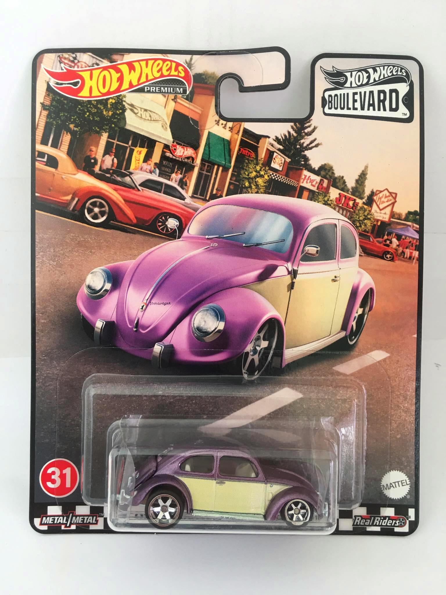 Hot Wheels - Volkswagen Classic Bug Violeta - Boulevard