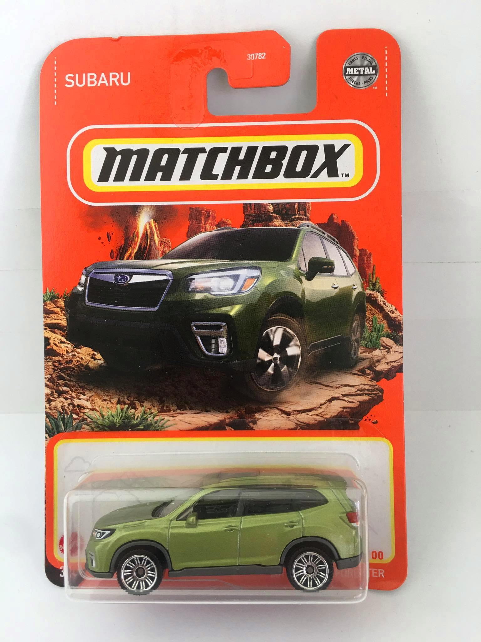 Matchbox - 2019 Subaru Forester  Verde - Básico 2021