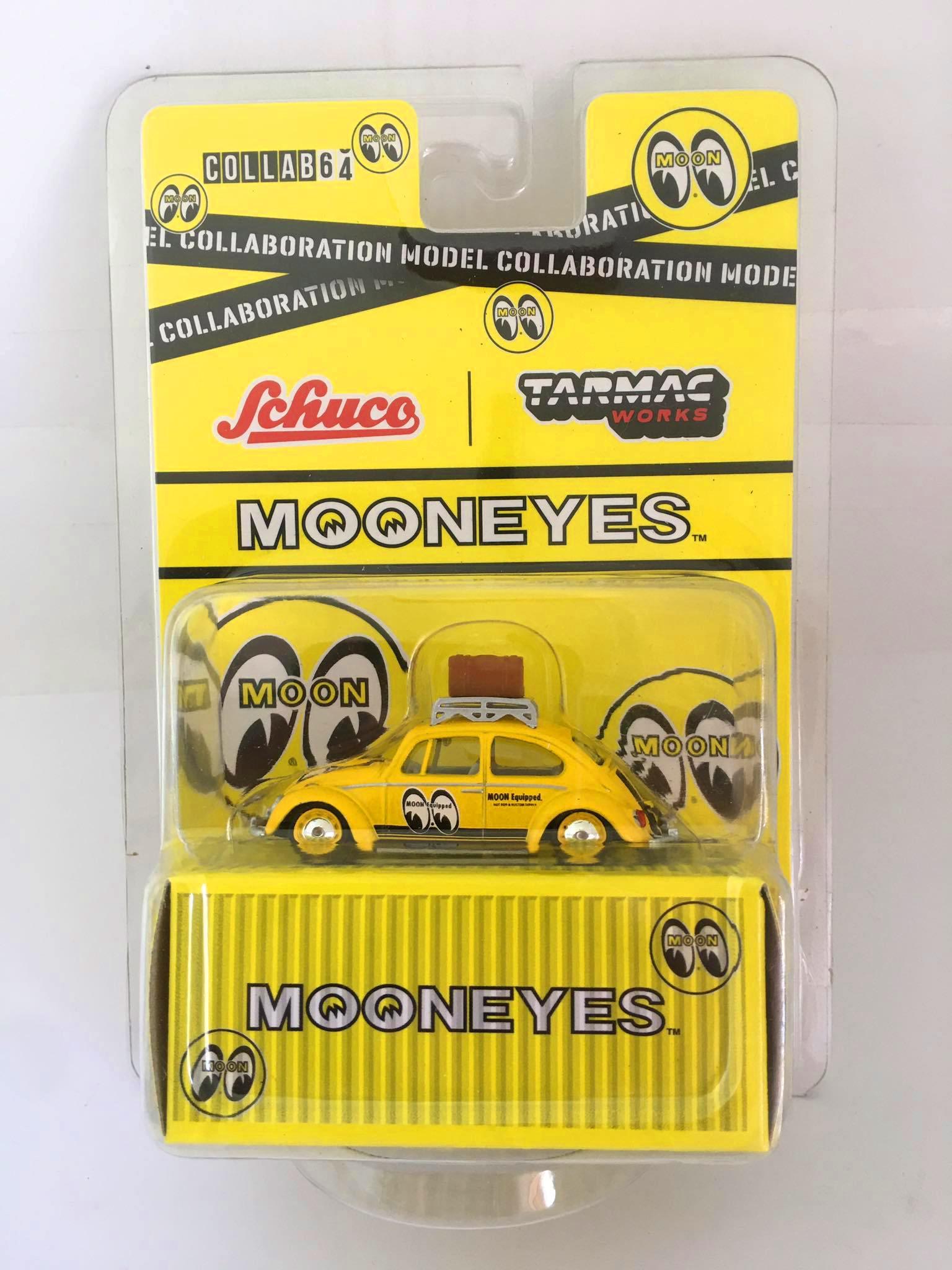 Schuco / Tarmac Works - Volkswagen Beetle Mooneyes - Collab64