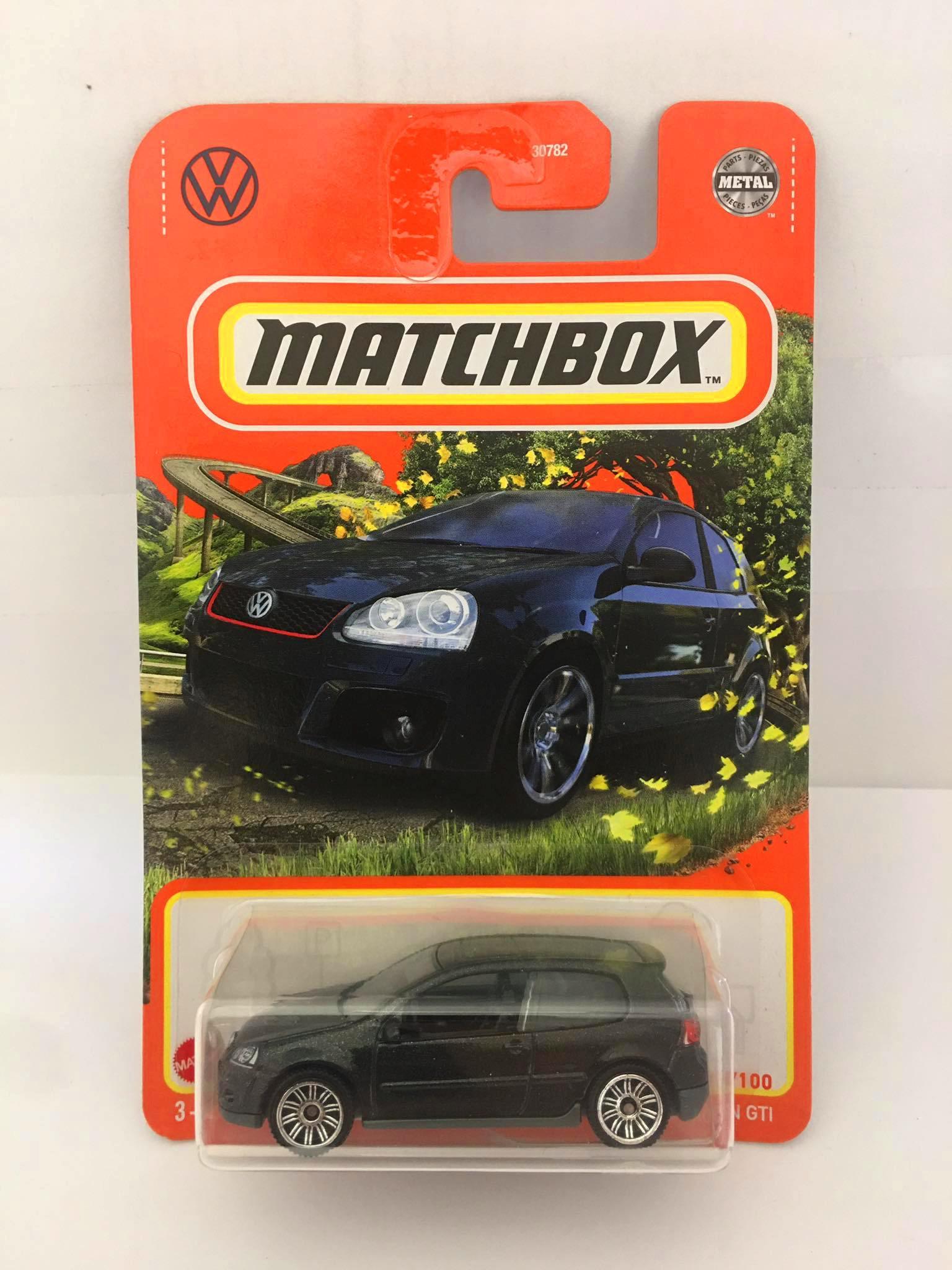 Matchbox - Volkswagen GTI Preto - Básico 2021