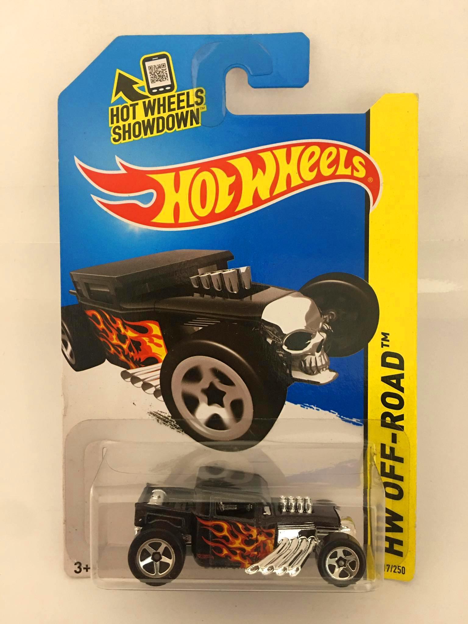 Hot Wheels - Bone Shaker Preto - Mainline 2014