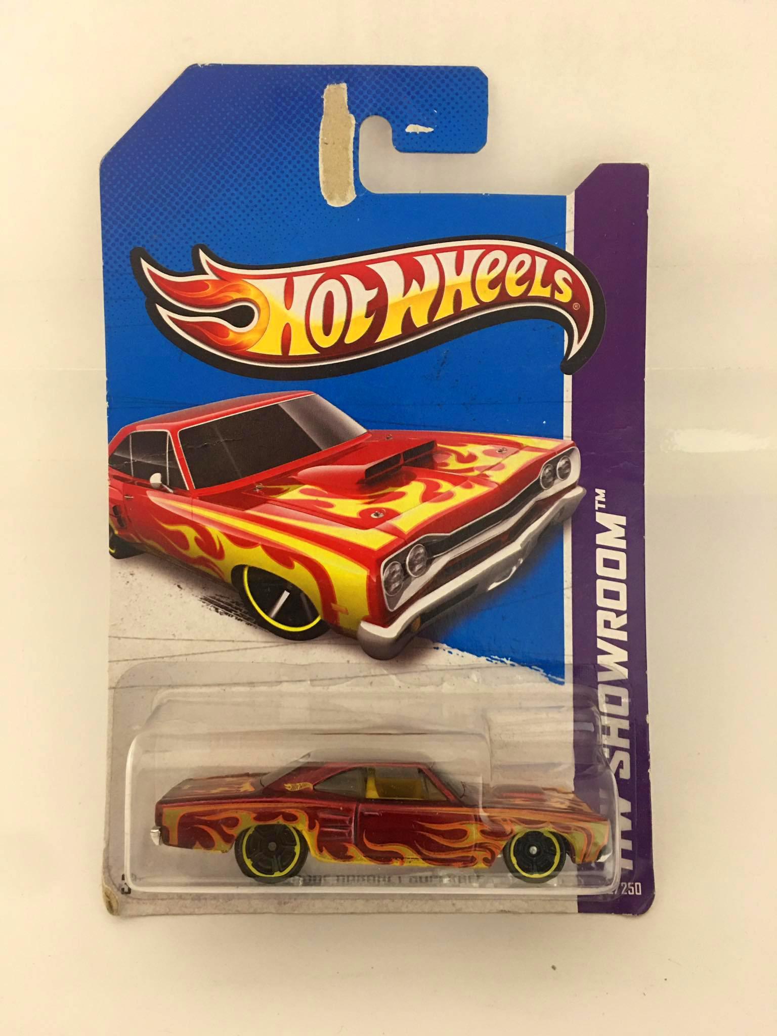 Hot Wheels - 69 Dodge Coronet Superbee Vermelho - Mainline 2013 - Leia Descrição
