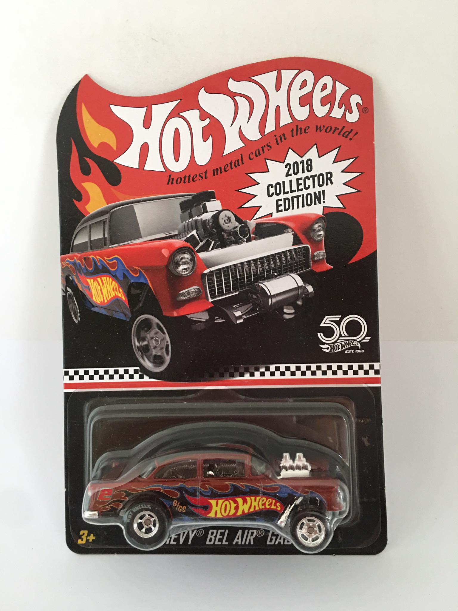 Hot Wheels - 55 Chevy Bel Air Gasser   - 2018 Collector Edition Kmart