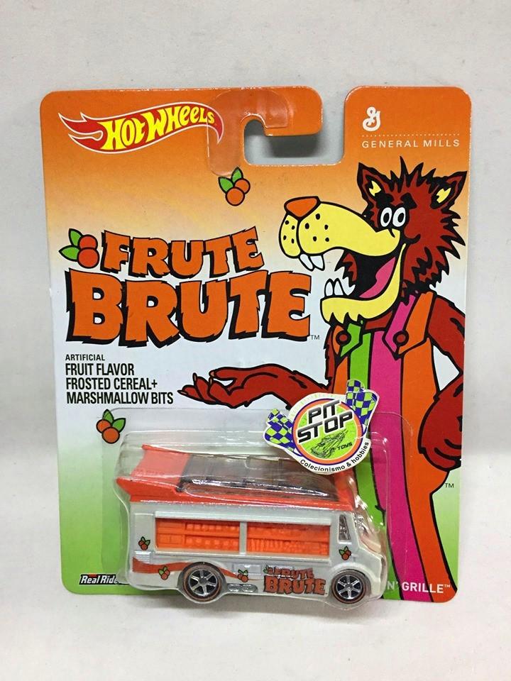 Hot Wheels - Smokin Grille Branco - Brute Brute - General Mills
