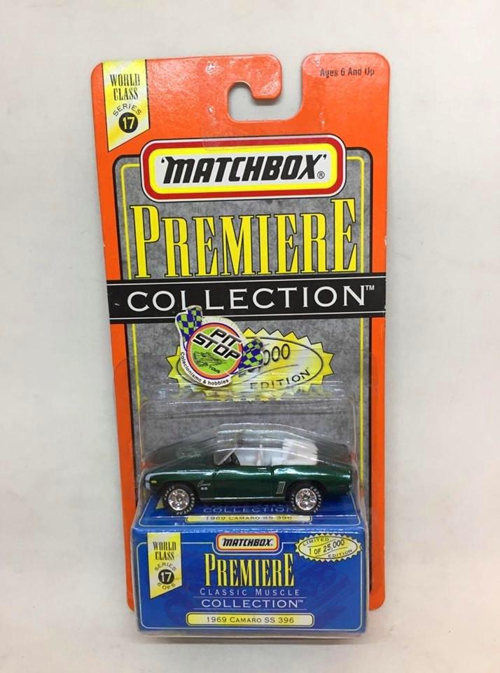 Matchbox - 1969 Camaro SS 396 Verde - Premiere Collection