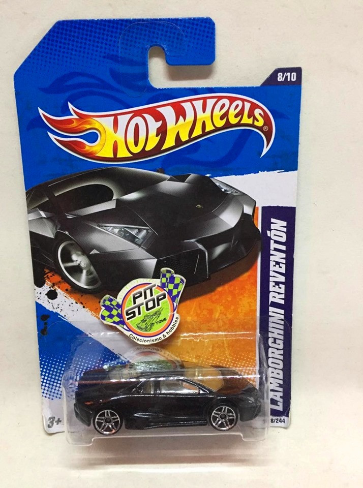 Hot Wheels - Lamborghini Reventón Preto - Mainline 2011