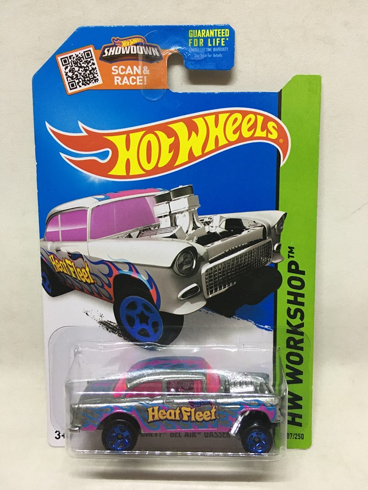 Hot Wheels - 55 Chevy Bel Air Gasser - Zamac - Walmart Exclusivo - 2018
