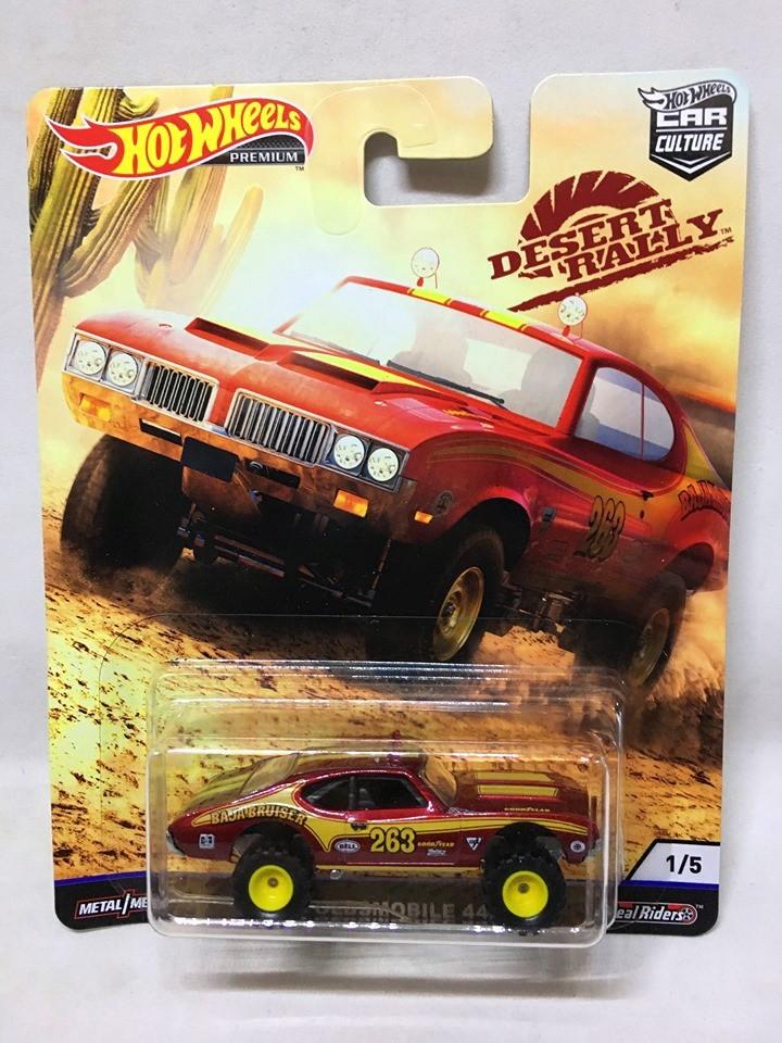 Hot Wheels - 70 Oldsmobile Vermelho - Desert Rally - HW Premium