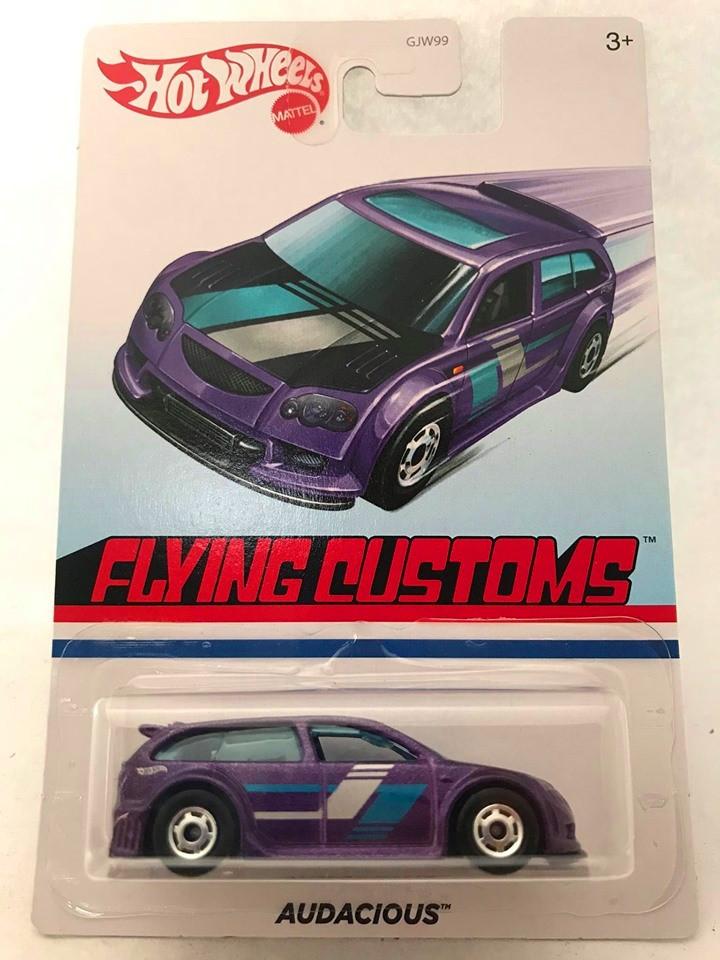 Hot Wheels - Audacious Roxo  - Flying Customs