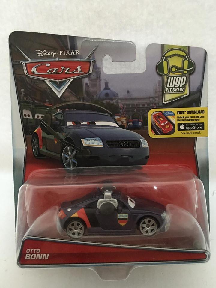 Disney Cars - Otto Bonn Roxo - Wgp Pit Crew