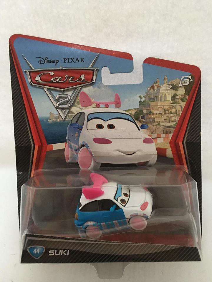Disney Cars - Suki Azul/Branco - Cars 2