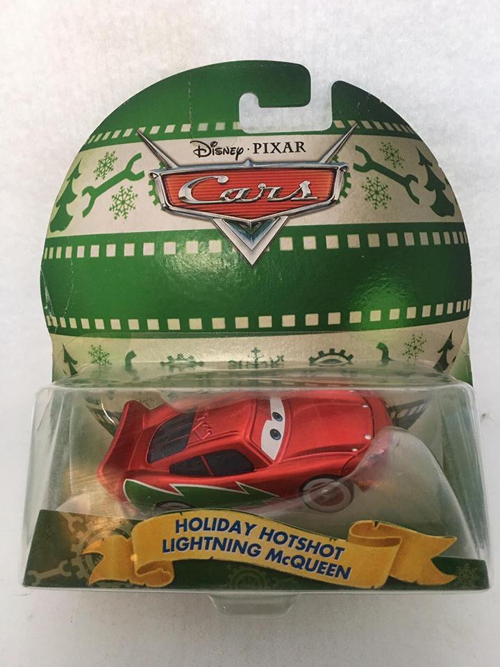 Disney Cars - Holiday Hotshot Lightning McQueen Vermelho - Happy Holidays From Radiator Springs