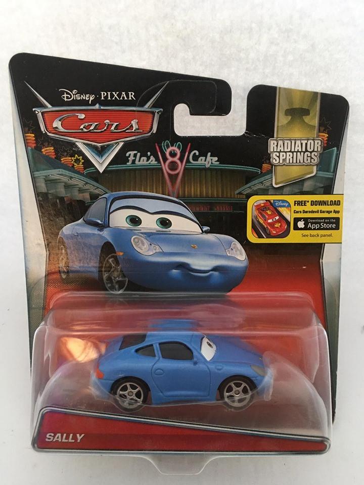 Disney Cars - Sally Azul - Radiator Springs