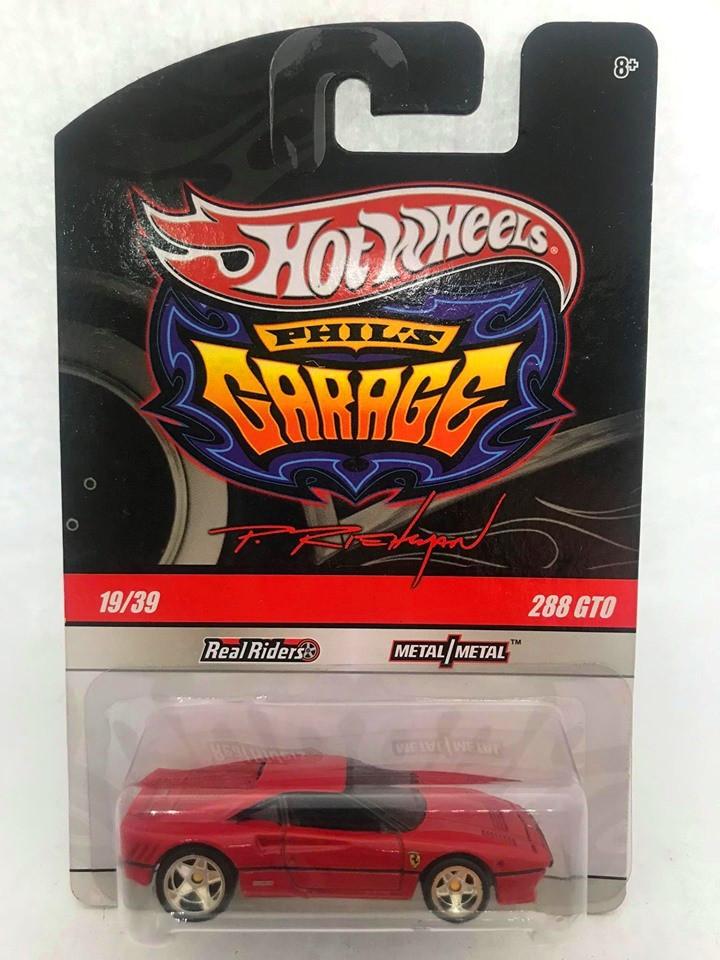 Hot Wheels - Ferrari 288 GTO Vermelho - Garage
