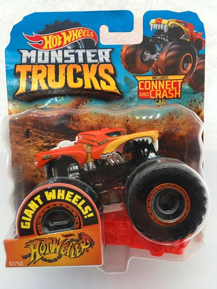 Hot Wheels - Hotweiler Laranja - Giant Wheels - Monster Trucks